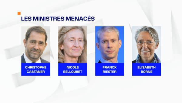 Les ministres menacés lors du remaniement prévu début juillet 2020.