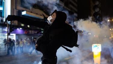 Affrontements à Hong Kong, le 25 décembre 2019