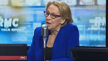 Marylise Lebranchu, ministre de la Fonction publique, ce jeudi chez Jean-Jacques Bourdin.