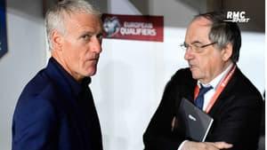 """Equipe de France : """"Il manque un autre milieu défensif"""", la blague de Le Graët à Deschamps sur sa tactique"""