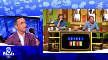 "Youri Djorkaeff dans ""Burger Quiz"""