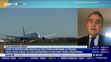 Alexandre de Juniac (IATA) : Déconfinement, les compagnies aériennes toujours dans le flou - 25/11