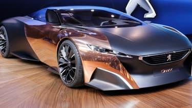 L'Onyx, dévoilée par PSA au mondial de l'automobile. Ce dernier fait face à un important repli de ses marchés domestiques