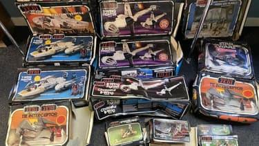 Des jouets Star Wars vendus aux enchères