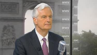 Michel Barnier était l'invité de BFMTV ce lundi 1er juillet.
