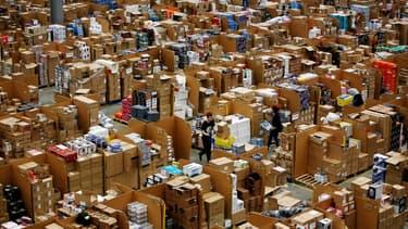 Photo d'illustration d'un entrepôt