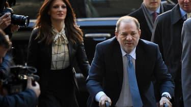 Harvey Weinstein le 24 février 2020 à New York.