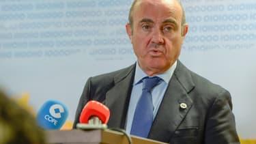 Luis de Guindos, le ministre espagnol de l'Économie.