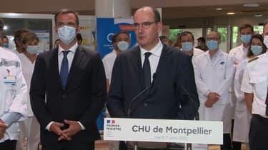 Jean Castex à Montpellier.