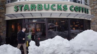 Starbucks veut 50% de points de vente en plus