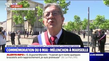 """Jean-Luc Mélenchon: """"Je ne donnerai aucun conseil à Éric Dupond-Moretti (...), il n'écoute personne et est extrêmement imbu de lui-même"""""""