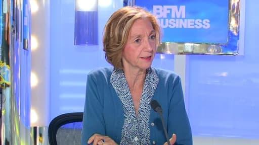 Nicole Bricq était l'invité de Good Morning Business sur BFM Business, ce mercredi 10 juillet.