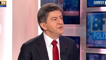 Jean-Luc Mélenchon était l'invité de BFM Politique sur BFMTV, dimanche 2 décembre.