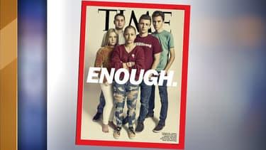 Les lycéens rescapés de la fusillade de Parkland font la une du magazine Time.