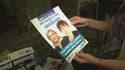 Candidate FN à Gravelines aux dernières municipales, Carole Van Hullebusch ne sait quoi faire des affiches de son kit de campagne qui lui sont restées sur les bras.