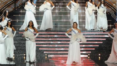 L'élection miss France 2015.