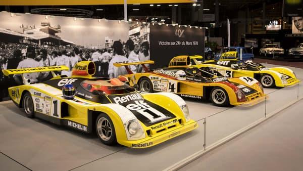 Alpine célèbre au salon Rétromobile jusque dimanche les 40 ans de sa victoire aux 24 Heures du Mans en 1978.