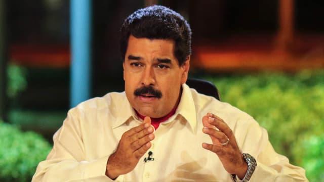 Nicolas Maduro, le président vénézuélien, le 10 mai 2016.