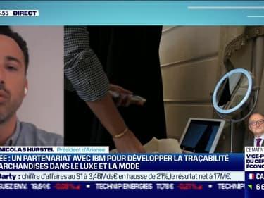 Pierre-Nicolas Hurstel (Arianee): Arianee produit des NFTs et des passeports numériques basés sur la blockchain - 30/07