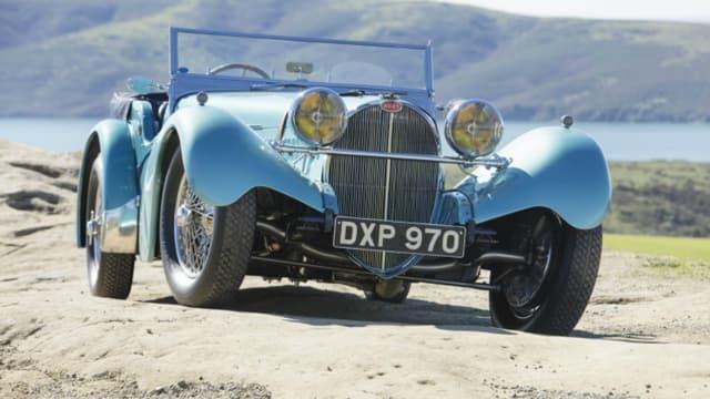 Cette Bugatti de 1937 est partie pour près de 10 millions de dollars aux enchères, le 10 mars dernier.