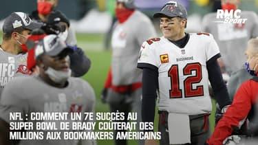 NFL : Comment un 7e Super Bowl de Brady coûterait des millions aux bookmakers