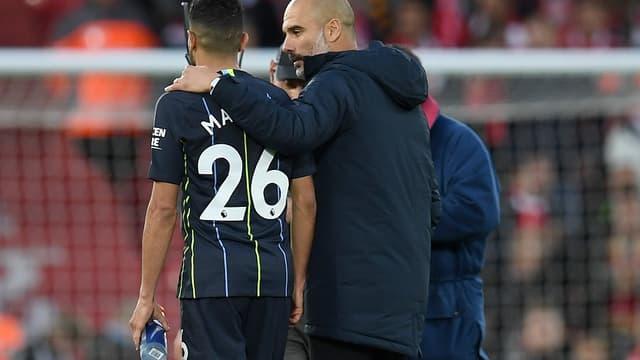 Mahrez et Guardiola