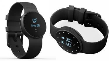 Le bracelet GME1 donne l'heure, mesure les dépenses calorifiques dans la journée mais aussi la nuit, lors de vos ébats amoureux.