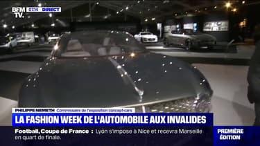"""Découvrez ces étonnants concepts-cars de la """"fashion week"""" de l'automobile aux Invalides"""