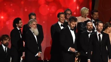 Le casting de Game of Thrones aux Emmy Awards, le 18 septembre 2016
