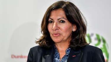 Anne Hidalgo à Dunkerque le 30 octobre 2018