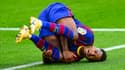 Ansu Fati, blessé avec le FC Barcelone