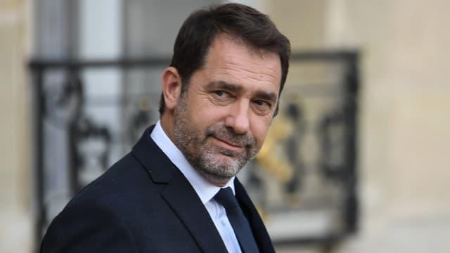 Le ministre de l'Intérieur Christophe Castaner dans la cour de l'Elysée, le 7 novembre 2019