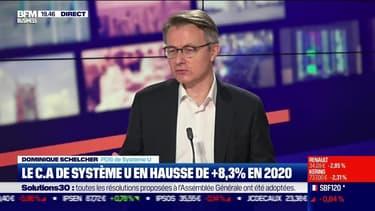 Dominique Schelcher (Système U) : Le chiffre d'affaires de Système U en hausse de +8,3% en 2020 - 30/06