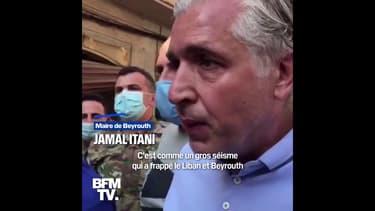 """Dans les rues de Beyrouth, le maire de la ville estime que la restauration coûtera """"des milliards de dollars"""""""
