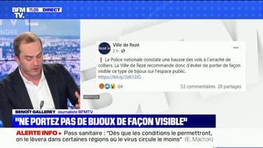"""La ville de Rezé au cœur d'une polémique après avoir recommandé  """"d'éviter de porter de façon visible"""" des bijoux"""