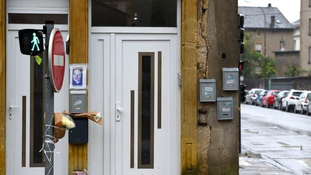 Photo du domicile de la victime à Hayange, Moselle, le 25 mai 2021