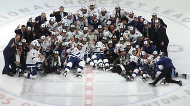 Le Lightning a levé la Stanley Cup pour la deuxième fois de son histoire