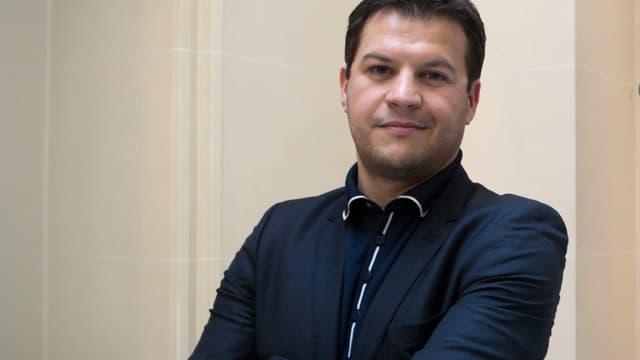 Guillaume Musso, le 8 mars 2011 à Paris