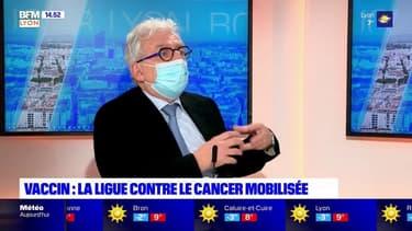 Vaccination: le président du comité Rhône de la Ligue contre le cancer, invité de Bonjour Lyon