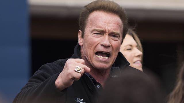 Arnold Schwarzenegger le 6 mars 2016