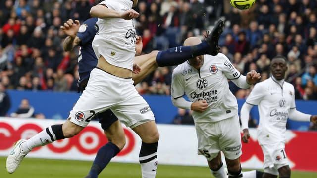 Le geste spectaculaire de Zlatan lors de PSG-Caen