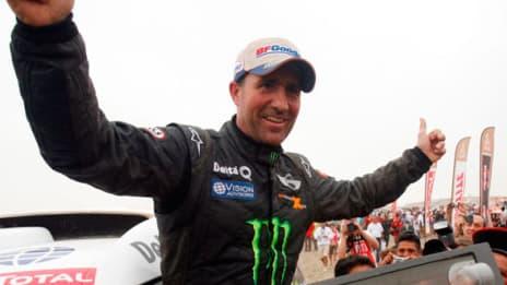 Onzième victoire pour le français Stéphane Peterhansel.