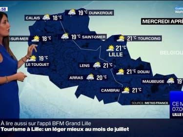 Météo Nord-Pas-de-Calais: alternance de nuages et d'éclaircies, entre 18°C et 21°C cet après-midi