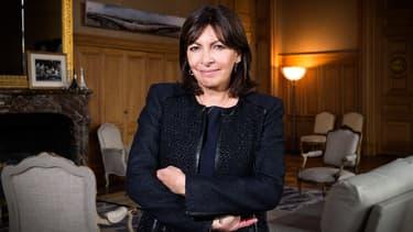 La maire de Paris Anne Hidalgo, le 4 mars 2015