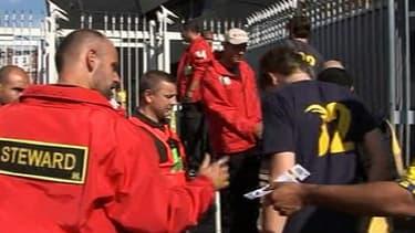 La sécurité est renforcée au Parc des Princes pour le match PSG-Brest.