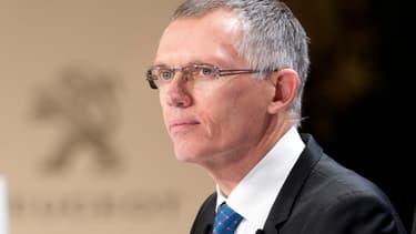 Le président du directoire de PSA, Carlos Tavares, le 18 février 2015.