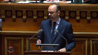 Edouard Philippe s'est exprimé devant le Sénat.