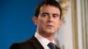 Manuel Valls le 7 janvier 2015 à Matignon.