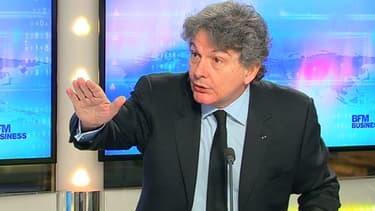Thierry Breton, le PDG d'Atos et ancien ministre de l'Economie, était l'invité de Good Morning Business ce 9 décembre..