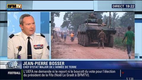 Le général Jean-Pierre Bosser face à Ruth Elkrief
